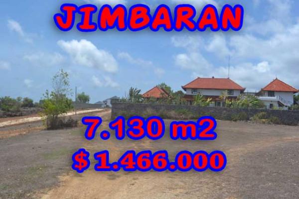 Extraordinary Property in Bali, Land for sale in Jimbaran Bali – 7,130 m2 @ $ 206