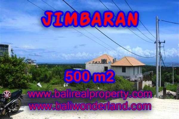 Exotic Property in Bali, Land in Jimbaran Bali for sale – 500 m2 @ $ 645