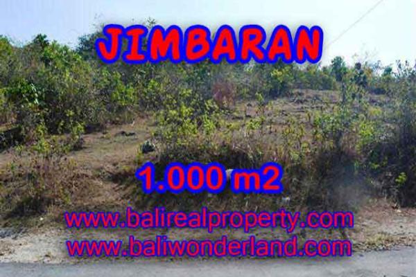 Land for sale in Bali, Interesting view in Jimbaran Bali – 1.000 m2 @ $ 325