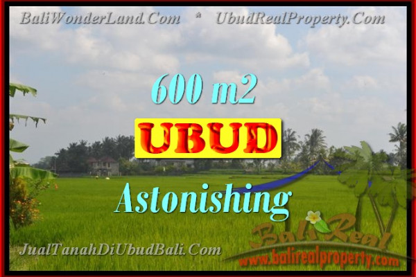 Land in Bali for sale, Stunning Property in Ubud Bali – 600 m2 @ $ 450