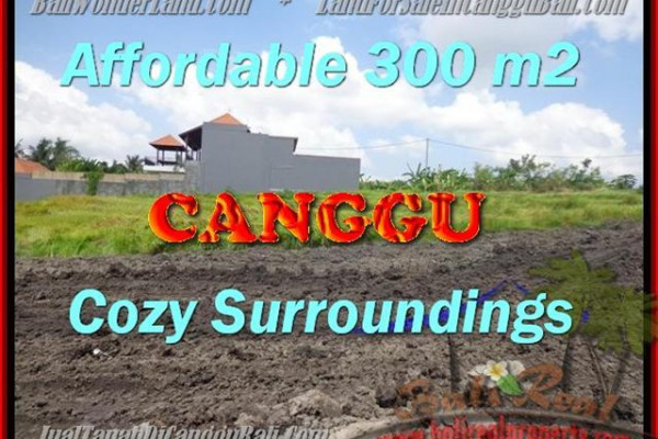 300 m2 LAND IN Canggu Pererenan BALI FOR SALE TJCG157