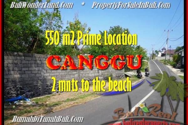 Exotic PROPERTY LAND SALE IN Canggu Batu Bolong TJCG159