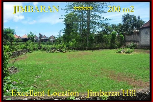 FOR SALE Affordable 200 m2 LAND IN Jimbaran Ungasan BALI TJJI087