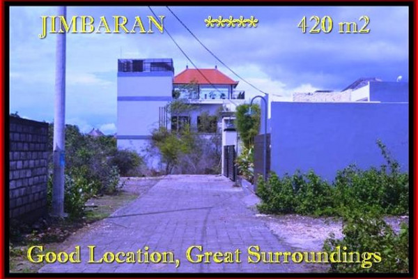 Beautiful PROPERTY LAND FOR SALE IN Jimbaran Ungasan TJJI096