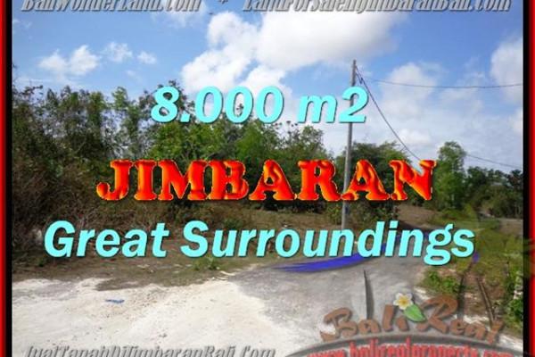 Exotic PROPERTY LAND IN Jimbaran Ungasan FOR SALE TJJI082