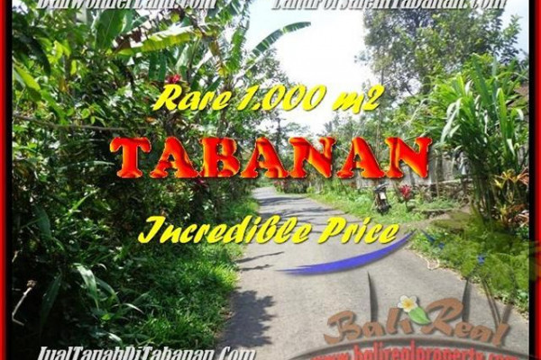 1.000 m2 LAND SALE IN TABANAN TJTB171