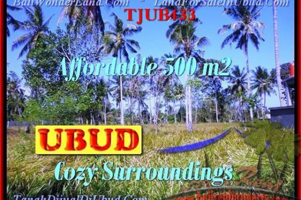 Exotic PROPERTY LAND SALE IN Sentral Ubud BALI TJUB433