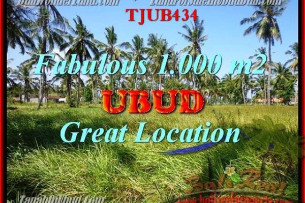 Magnificent PROPERTY LAND FOR SALE IN UBUD TJUB434