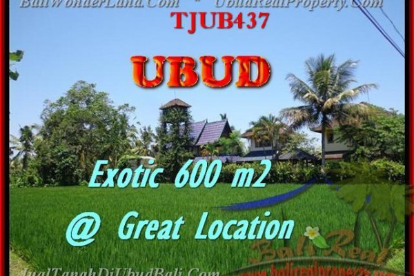 FOR SALE Beautiful PROPERTY LAND IN Sentral Ubud BALI TJUB437