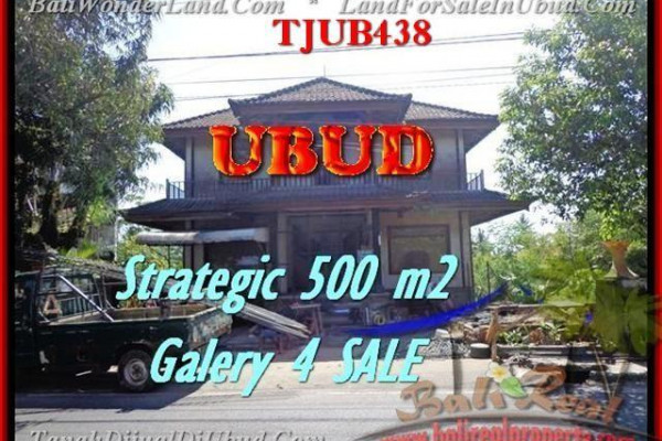 FOR SALE Exotic PROPERTY LAND IN Sentral Ubud BALI TJUB438