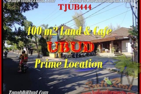 Beautiful PROPERTY 400 m2 LAND IN UBUD BALI FOR SALE TJUB444