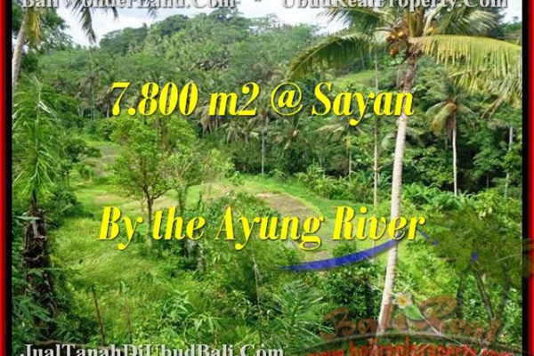Exotic 7,800 m2 LAND IN UBUD FOR SALE TJUB472