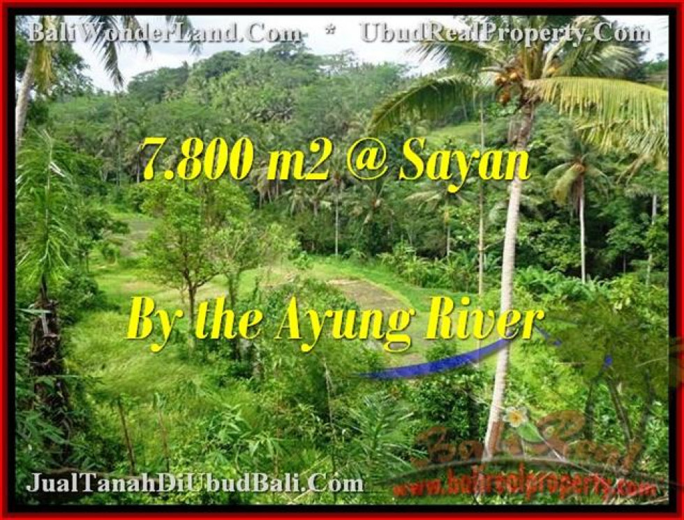 FOR SALE Magnificent 7,800 m2 LAND IN UBUD TJUB472