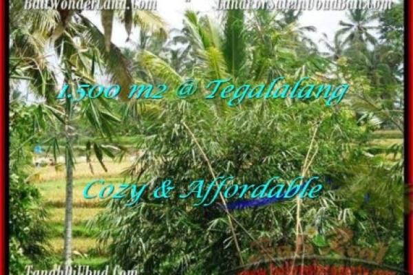 Magnificent Ubud Tegalalang BALI LAND FOR SALE TJUB489