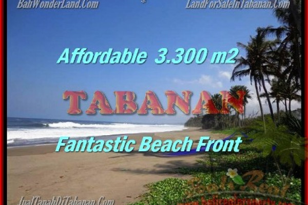 Beautiful PROPERTY Tabanan Selemadeg 3.300 m2 LAND FOR SALE TJTB157