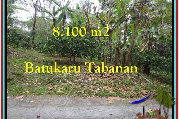 FOR SALE Beautiful LAND IN Tabanan Penebel BALI TJTB212