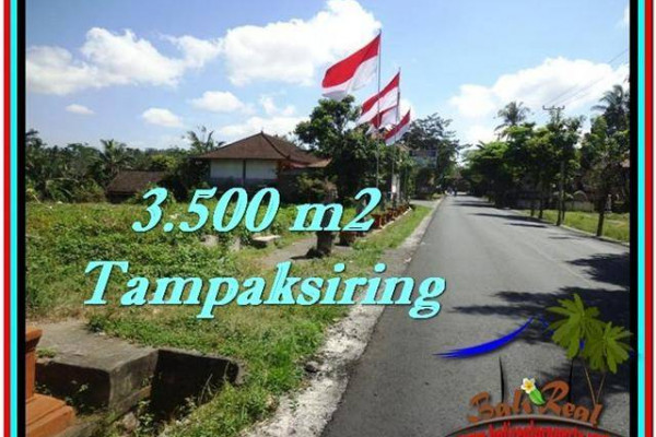 Magnificent 3,500 m2 LAND SALE IN UBUD BALI TJUB517