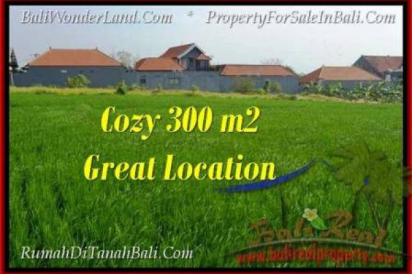Magnificent 300 m2 LAND IN CANGGU FOR SALE TJCG186