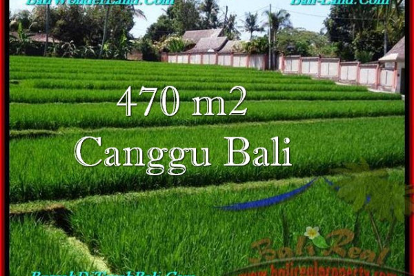 Beautiful CANGGU 470 m2 LAND FOR SALE TJCG187