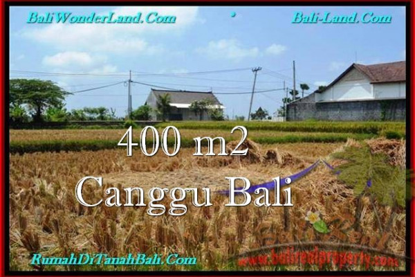 Affordable PROPERTY 400 m2 LAND SALE IN CANGGU TJCG188