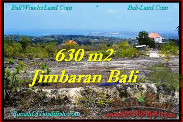 PROPERTY in Bali 630 m2 LAND FOR SALE IN JIMBARAN TJJI099