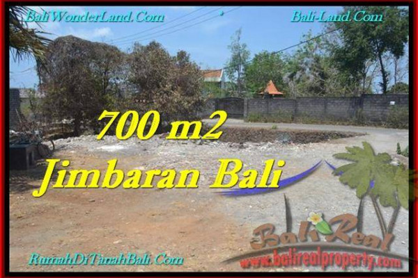 700 m2 LAND IN JIMBARAN BALI FOR SALE TJJI100