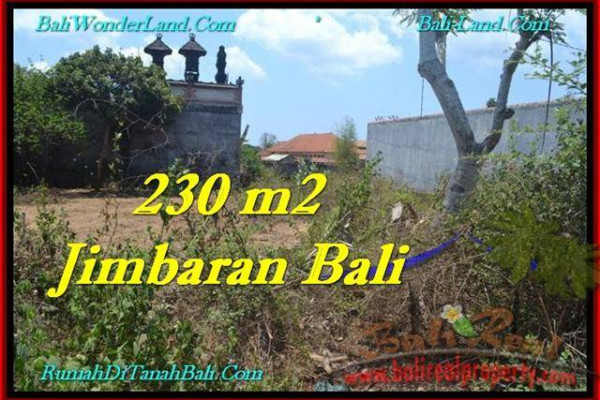 Beautiful PROPERTY 200 m2 LAND IN JIMBARAN BALI FOR SALE TJJI102