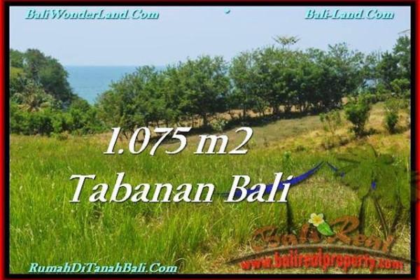 Exotic 1,075 m2 LAND FOR SALE IN TABANAN BALI TJTB230