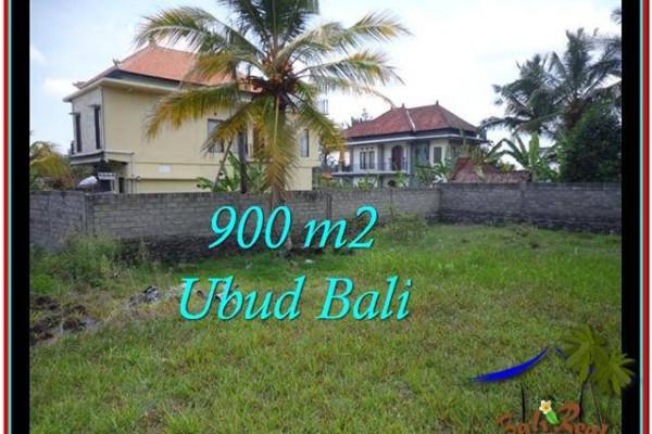 Affordable UBUD BALI 900 m2 LAND FOR SALE TJUB532