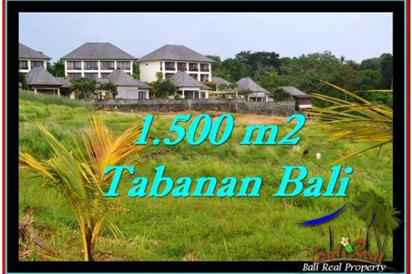 1,500 m2 LAND FOR SALE IN TABANAN BALI TJTB252