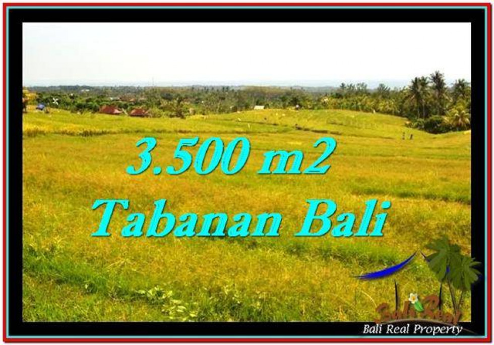 Exotic PROPERTY TABANAN LAND FOR SALE TJTB259