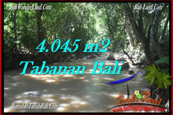 Affordable PROPERTY 4,045 m2 LAND SALE IN TABANAN BALI TJTB277