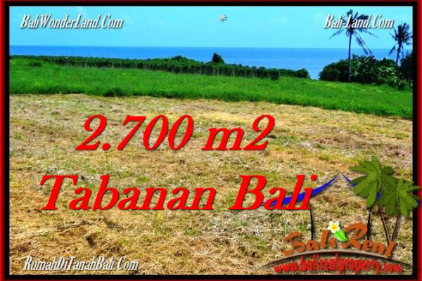 Magnificent PROPERTY LAND SALE IN TABANAN TJTB286