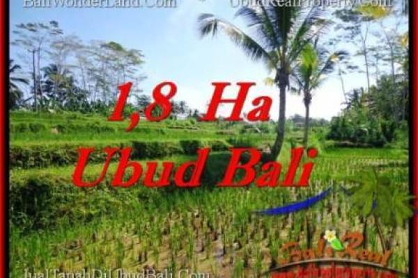 FOR SALE Beautiful 16,000 m2 LAND IN UBUD BALI TJUB553