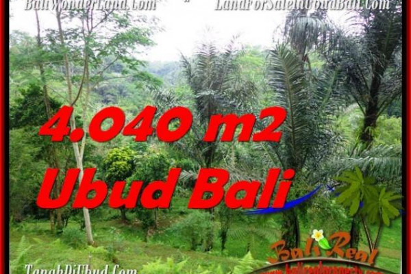 Exotic PROPERTY UBUD LAND FOR SALE TJUB555