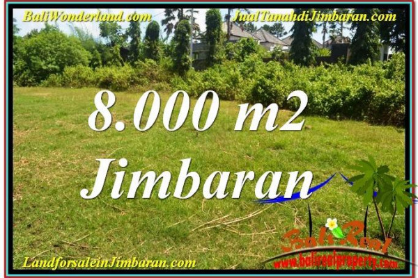 Exotic LAND IN Jimbaran Ungasan BALI FOR SALE TJJI109