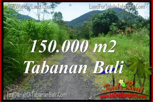 Magnificent PROPERTY 150,000 m2 LAND FOR SALE IN Tabanan Penebel BALI TJTB318