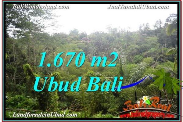 1,670 m2 LAND FOR SALE IN UBUD BALI TJUB569