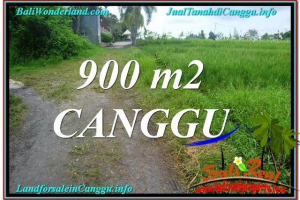 Canggu Batu Bolong Bali 900 m2 LAND FOR SALE TJCG215