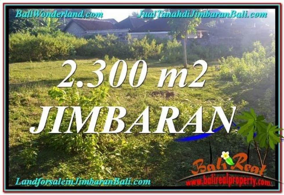 Exotic 2,300 m2 LAND IN JIMBARAN FOR SALE TJJI117