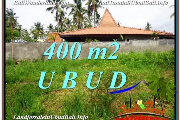 Exotic 400 m2 LAND SALE IN UBUD BALI TJUB585