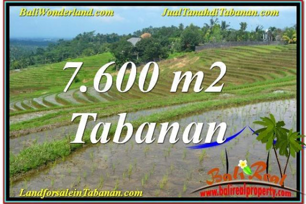 Beautiful LAND IN Tabanan Selemadeg FOR SALE TJTB347