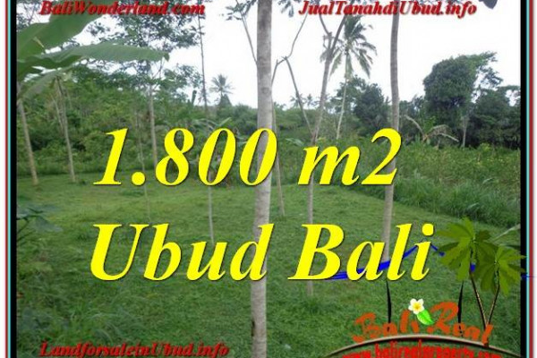 Affordable UBUD 1,800 m2 LAND FOR SALE TJUB610