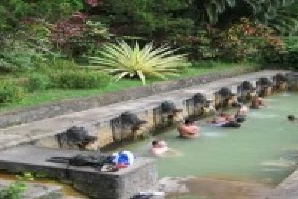 BANJAR HOT WATER SPRING AT BULELENG NORTH BALI