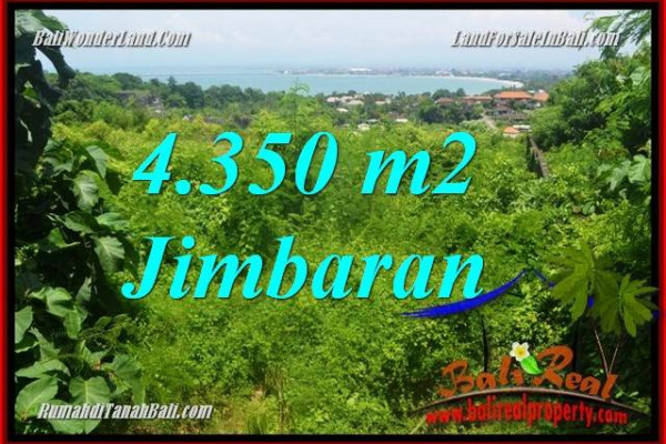 Magnificent PROPERTY 4,350 m2 LAND FOR SALE IN Jimbaran Ungasan BALI TJJI120