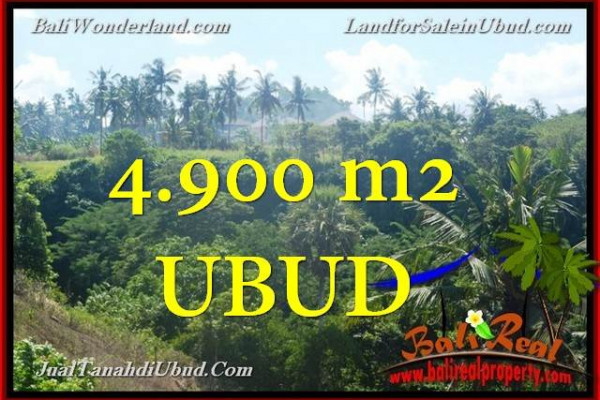 Magnificent PROPERTY 4,900 m2 LAND IN UBUD BALI FOR SALE TJUB665