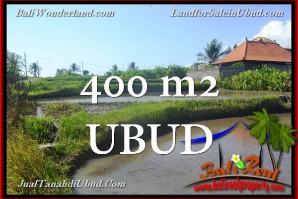 Beautiful PROPERTY 400 m2 LAND SALE IN Ubud Gianyar TJUB659