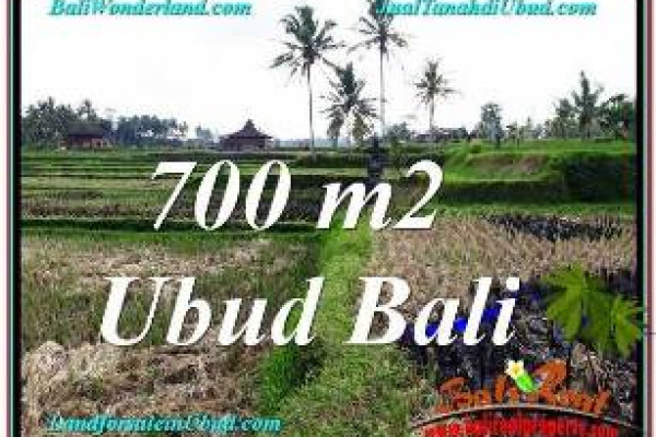 Magnificent LAND FOR SALE IN UBUD TJUB666