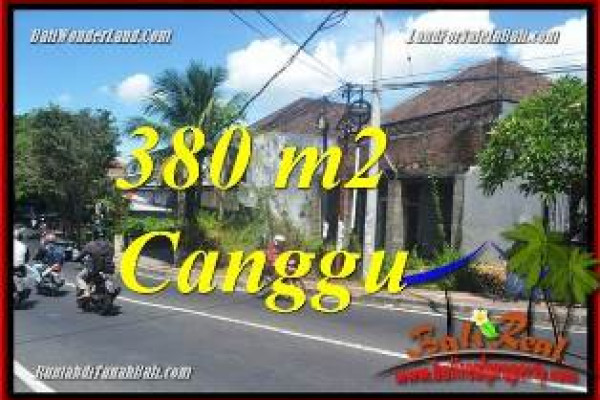 Affordable PROPERTY CANGGU BRAWA BALI LAND FOR SALE TJCG226