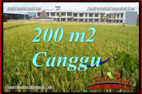 Beautiful PROPERTY CANGGU BALI LAND FOR SALE TJCG229